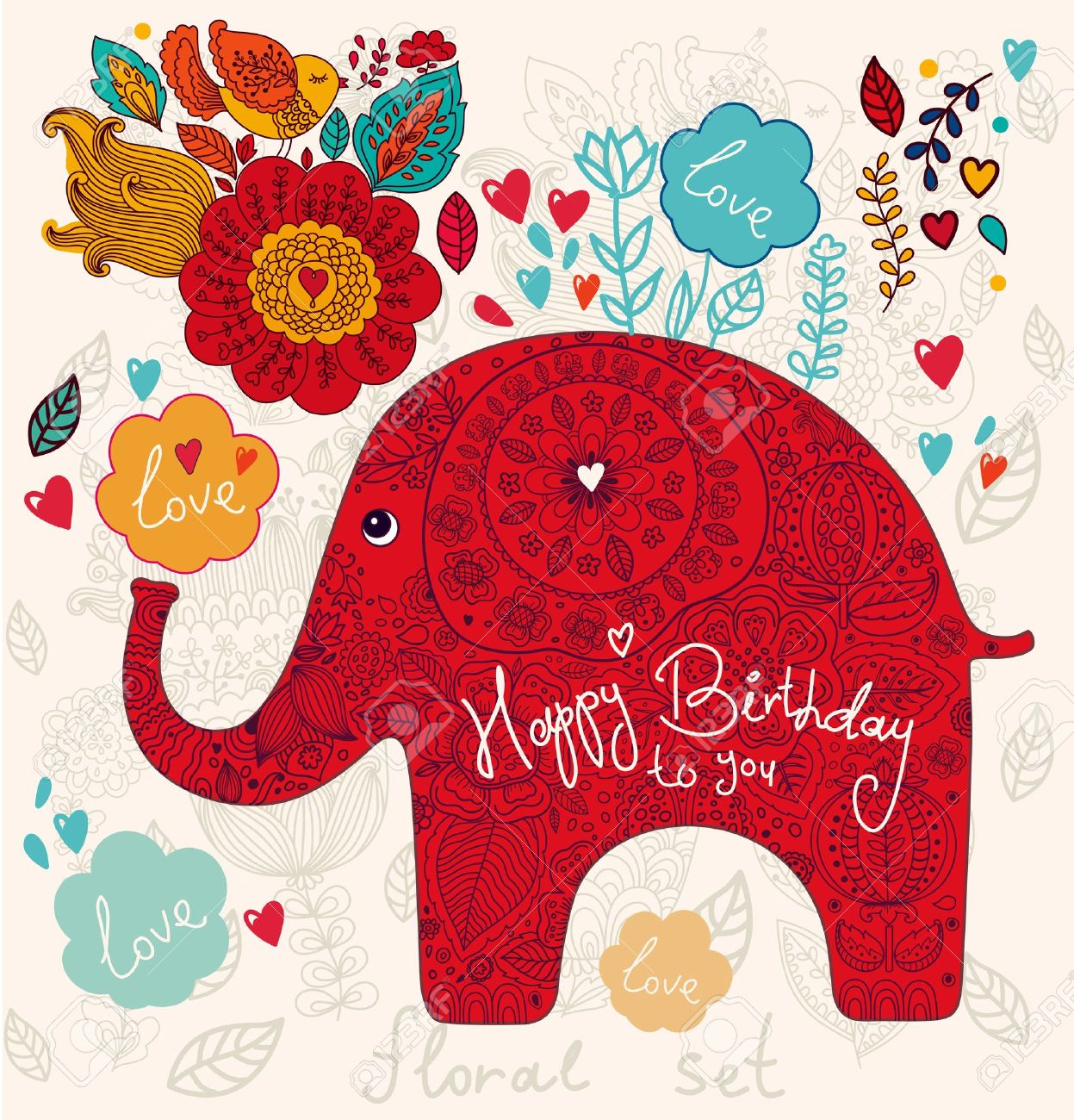 Happy Birthday SaraEve Swimming With Elephants Publications