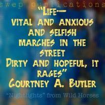 nightlights- courtney butler