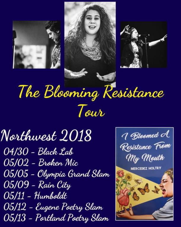 Mercedez Holtry 2018 Tour Schedule